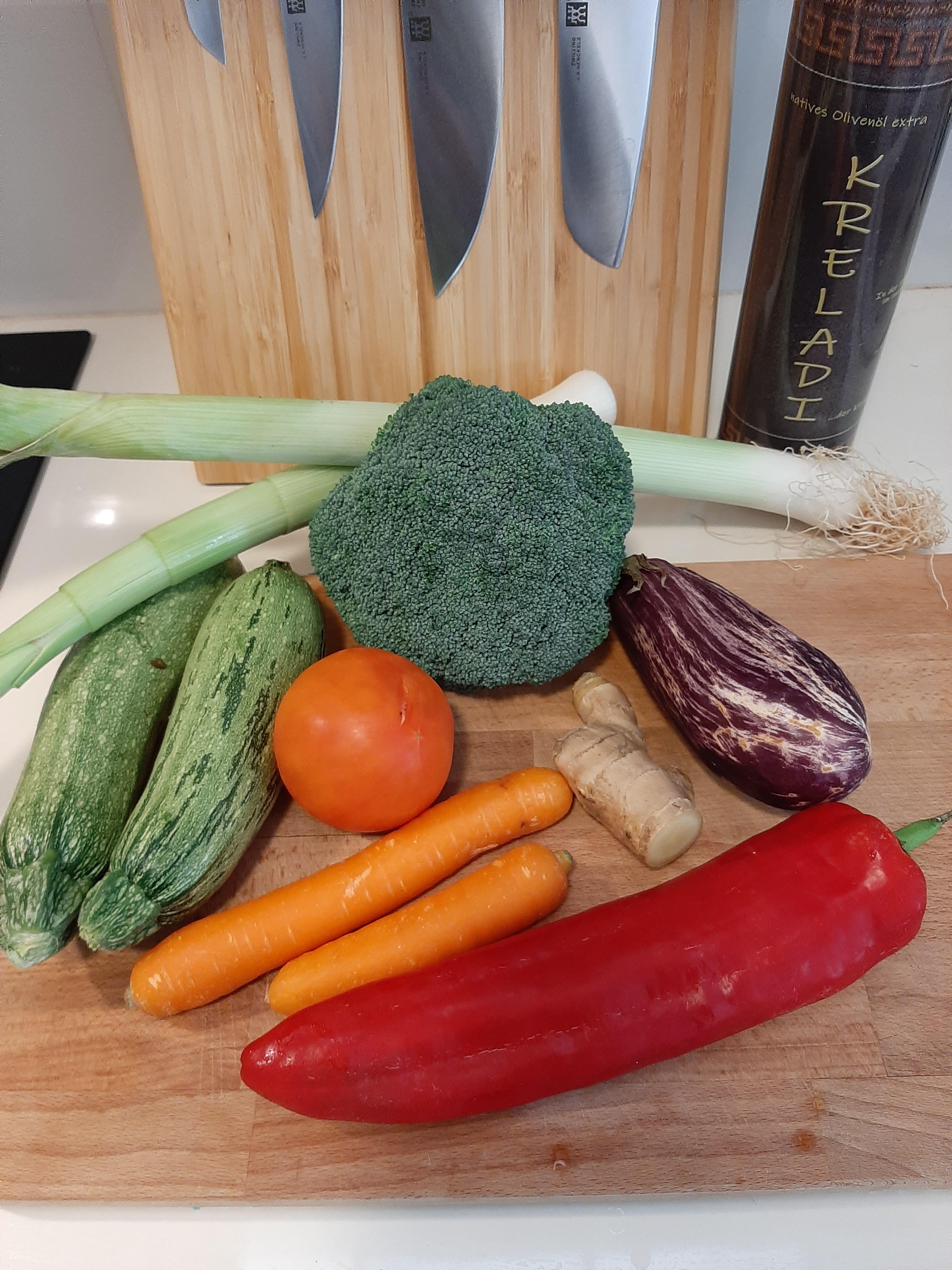 Gemüse - so einfach kann lecker sein